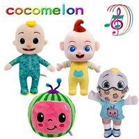 Cocomelon JJ Boy Cute Plush Toy Soft Stuffed Musical Dolls Educational Kids Gift