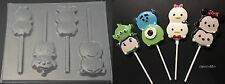 TSUM TSUM Mickey Minnie Monsters Inc Toy Story Chocolate Candy Lollipop Mold