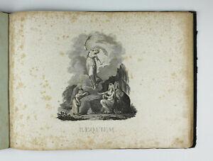 Alte Noten Mozart Missa pro defunctis Requiem Klavier um 1818 Seelenmesse