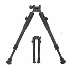 Airsoft Sniper Rifle Bipod Picatinny Weaver Rail Mount Stabilizer Hunting METAL