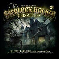 SIR ARTHUR CONAN DOYLE-SHERLOCK HOLMES CHRONICLES 24-DIE TEUFELSKRALLE  CD NEW