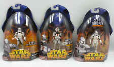 STAR WARS : CLONE TROOPERS & CLONE COMMANDER ACTION FIGURES (TH)
