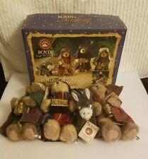 Boyds Bears Nativity Plush Wise Men Accessory Set 4-piece Retired Rare (2006)