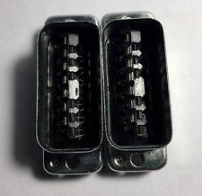 2 Pièces 13 broches Amphenol Tuchel t2706 couteau barres pour Telefunken Siemens w295