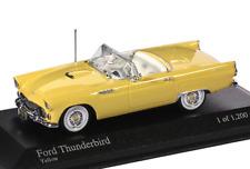 1:43 Minichamps - Ford Thunderbird Cabriolet 1955 - gelb