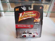 Johnny Lightning 1980 Chevy Monza Spyder in White on Blister