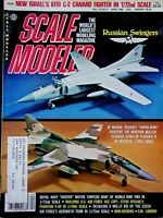 Vtg Scale Modeler Magazine April 1980 Russian Swing Wing Fighters m131