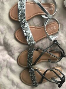 NEXT Silver Sandals for Girls   eBay