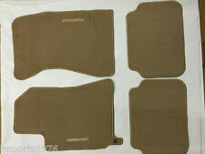 2003 - 2008 Subaru Forester Genuine OEM Beige Carpeted Floor Mats - Set of 4