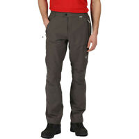 Regatta Mens Highton Walking Trousers - Green Sports Outdoors Breathable