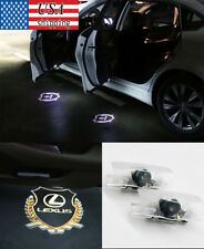 2pcs Car Door LED Lights Welcome Logo Laser Shadow Projector Lights For SC RX RC