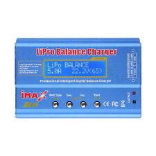 iMAX B6 Lipo NiMh Li-ion Ni-Cd RC Battery Balance Digital Charger Discharger FT