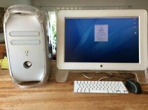 Apple Mac G4 2001 Dual 1GHz incl. Apple Cinema Display 20 zoll