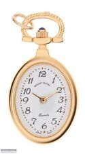 Mount Royal Pendant Watch, Gold Plated Oval Case, Quartz Movement.  B13P