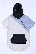 Men's Hudson Outerwear Zipper Hoodie Multi-Color Short Sleeve Size X-Large New!