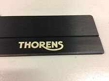 VERY RARE VINTAGE NOS THORENS TD 320 SERIES GOLD LOGO ALU FRONT PANEL USED