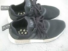 ADIDAS WOMENS BLACK MESH BOOST TRAINERS UK 7