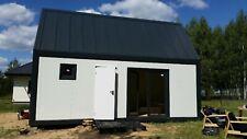 Wohncontainer  7m x 3m Mobilheim mit Möbeln und einer Toilette