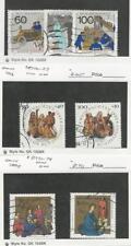 Germany, Postage Stamp, #B694-6, B756-7, B773-4 Used, 1990-94