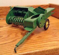 Vintage 1/16 John Deere 1960 Carter Tru Scale Baler Pressed Steel Farm Toy