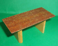 VINTAGE DOLLS HOUSE DOL TOI TABLE LUNDBY SCALE