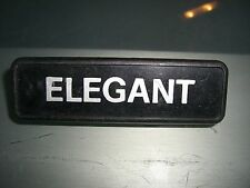 Emblem Badge Autobianchi A 112 Elegant