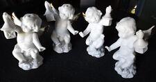 Angel White Figures - Set 4