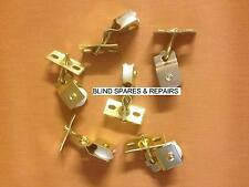 2 x Brass Plated Pulleys for Roman/Pleated/Skylight Roof Blinds**FREE POSTAGE**