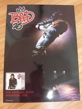 MICHAEL JACKSON - BAD 25TH ANNIVERSARY [ORIGINAL POSTER] 2 SIDED *NEW*