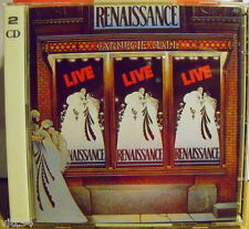 RENAISSANCE - LIVE AT CARNEIGE HALL - 2 CD New Unplayed