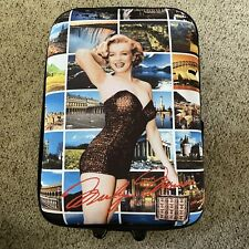 Marilyn Monroe Forever Beautiful Luggage Carry-On Rolling Travel Suitcase Bag