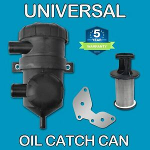Oil Catch Can SS for Holden Colorado RC Rodeo RA 4JJ1 3.0L Isuzu DMAX Turbo 4x4