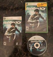 Microsoft Xbox 360 | Dark Sector | Complete In Box CIB