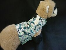 Ferret Harness - Green Paisley - S/M