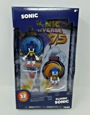 New Classic Sonic 2 Pack - TOMY - With Exclusive Comic Book Fast Free Shipping!