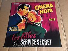 CINEMA NOIR - POSTER-KALENDER von TUSHITA 2015 - BOGART / WELLES / JANE RUSSELL