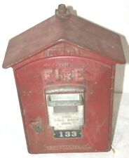 Vintage Gamewell Fire Alarm Master Box w/ Key # 133