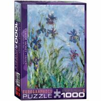Eurographics  1000 Piece Jigsaw Puzzle  - Irises / Claude Monet EG60002034