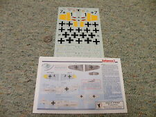Eagle Strike  decals 1/48 48145 Barbarossa  3 Russia 1941 BF-109 Family    N122