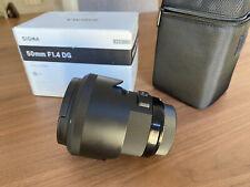 Sigma 50mm F/1,4 DG HSM Art Objetivo para Sony A-mount - Negro
