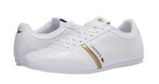 739CMA0078216-storda Lacoste 120 1 U Mn 'S (m) белый/золотой кожаный образ жизни обувь