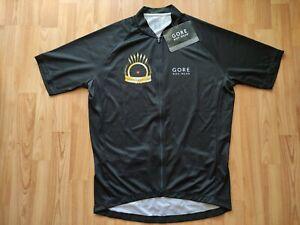Gore Bike Wear Chasing Cancellara 2017 SS Full Zipp Cycling Jersey Size: XL NEW!