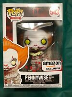 Funko POP Movies #543 IT - PENNYWISE w/ Severed Arm Amazon Exclusive Figure NIP