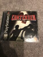 Contender (Sony PlayStation 1, 1999) Complete