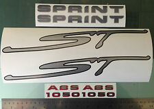 Fairing Decal Stickers for Triumph Sprint ST 1050 ABS (Any Colour)