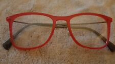 Ray Ban RB 7086 5641 Eyeglass Frames Red Pink 49 18 140 New
