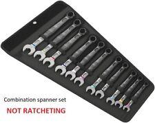 Wera 020231 JOKER 11 Set 1 6003 11 Pce Metric Ring Combination Spanner Set 8-19m