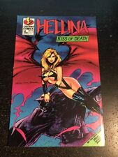 Hellina:Kiss Of Death#1 Awesome Condition 6.5(1995) Paul Abrams Art!!