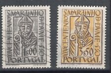 Portugal-1953-14Th Centenary St. Martin -Y&T 789/90-Mundifil 778/9-Set-2 Stamps