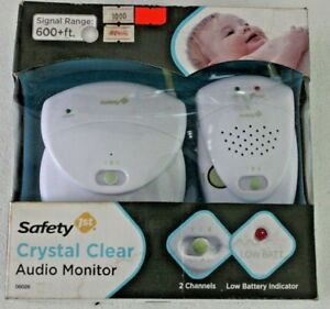 New Safety 1st Crystal Clear Audio Monitor (White)